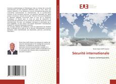 Bookcover of Sécurité internationale