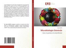 Bookcover of Microbiologie Générale