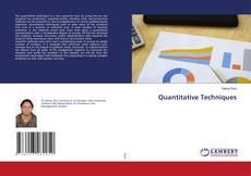 Bookcover of Quantitative Techniques
