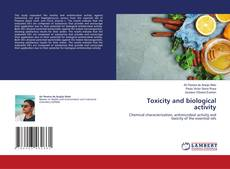 Bookcover of Toxicity and biological activity