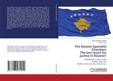 Bookcover of The Kosovo Specialist Chambers The last resort for justice in Kosovo?