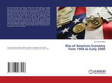 Обложка Rise of American Economy from 1900 to Early 2000