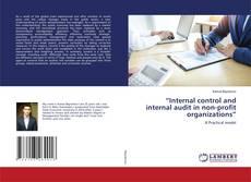 "Обложка ""Internal control and internal audit in non-profit organizations"""