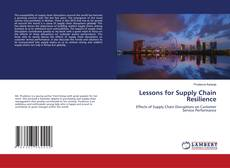 Borítókép a  Lessons for Supply Chain Resilience - hoz