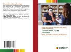 Portada del libro de Ensaios sobre Ética e Psicologia