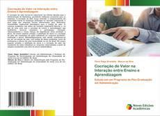 Обложка Cocriação de Valor na Interação entre Ensino e Aprendizagem