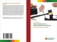 Capa do livro de Dano Existencial e o Cancelamento na Internet
