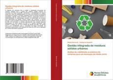 Обложка Gestão integrada de resíduos sólidos urbanos