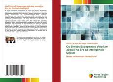 Capa do livro de Os Efeitos Extrapenais deletum sociali na Era da Inteligência Digital