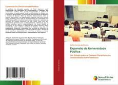 Обложка Expansão da Universidade Pública