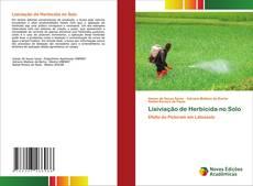 Обложка Lixiviação de Herbicida no Solo