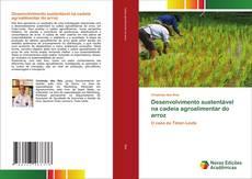 Capa do livro de Desenvolvimento sustentável na cadeia agroalimentar do arroz