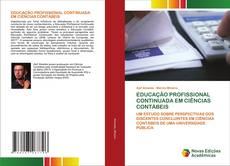 EDUCAÇÃO PROFISSIONAL CONTINUADA EM CIÊNCIAS CONTÁBEIS的封面