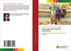 BULLYING NO ENSINO SUPERIOR的封面