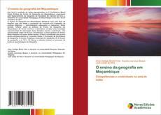 Portada del libro de O ensino da geografia em Moçambique