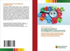 ALFABETIZAÇÃO E LETRAMENTO LINGUÍSTICOS kitap kapağı