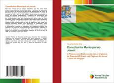 Обложка Constituinte Municipal no Jornal: