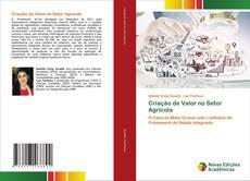 Обложка Criação de Valor no Setor Agrícola