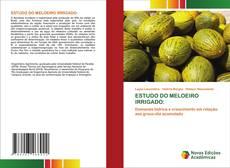 ESTUDO DO MELOEIRO IRRIGADO: kitap kapağı