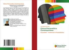 Clínica Psicanalítica Contemporânea kitap kapağı