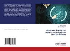 Bookcover of Enhanced Page Rank Algorithm Using Page Content Mining