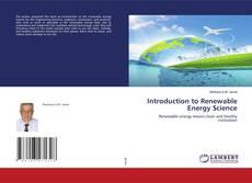 Introduction to Renewable Energy Science的封面