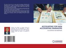 ACCOUNTING FOR NON ACCOUNTING MANAGERS kitap kapağı