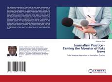 Buchcover von Journalism Practice – Taming the Monster of Fake News