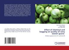 Обложка Effect of chemical and bagging on quality of rainy season guava