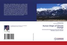 Couverture de Human Origin of Climate Change