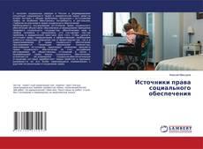 Источники права социального обеспечения kitap kapağı