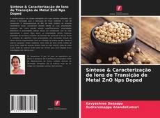 Couverture de Síntese & Caracterização de Íons de Transição de Metal ZnO Nps Doped