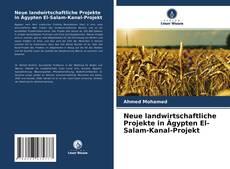 Bookcover of Neue landwirtschaftliche Projekte in Ägypten El-Salam-Kanal-Projekt