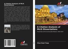 Copertina di A Citation Analysis of MLIS Dissertations
