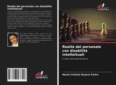 Realtà del personale con disabilità intellettuali kitap kapağı