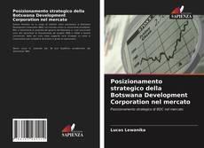 Copertina di Posizionamento strategico della Botswana Development Corporation nel mercato