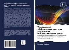 Bookcover of Управление эффективностью для улучшения предоставления услуг