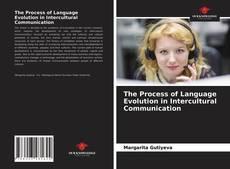 Capa do livro de The Process of Language Evolution in Intercultural Communication