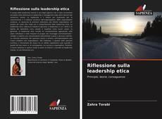 Capa do livro de Riflessione sulla leadership etica