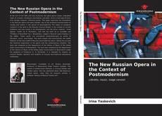 Capa do livro de The New Russian Opera in the Context of Postmodernism