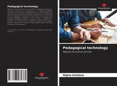 Portada del libro de Pedagogical technology