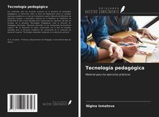 Portada del libro de Tecnología pedagógica