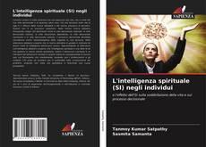Copertina di L'intelligenza spirituale (SI) negli individui