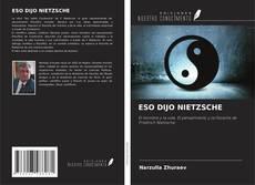 Bookcover of ESO DIJO NIETZSCHE