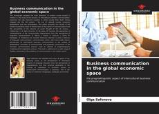 Обложка Business communication in the global economic space