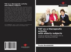 Capa do livro de TAT as a therapeutic activity with elderly subjects