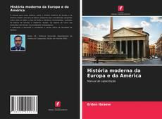 Couverture de História moderna da Europa e da América