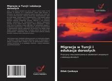 Portada del libro de Migracja w Turcji i edukacja dorosłych