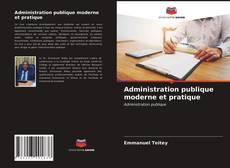 Portada del libro de Administration publique moderne et pratique