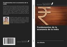 Buchcover von Fundamentos de la economía de la India